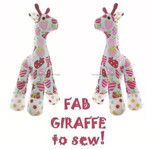 Free Giraffe Sewing Pattern