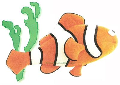 Fergus Fish by Kate Henderson   Sewing Pattern