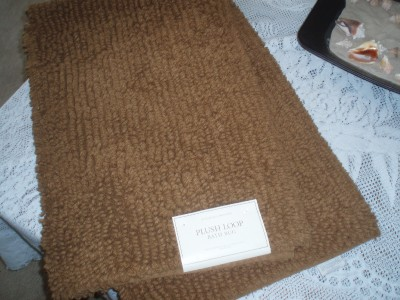 Restoration Hardware Plush Loop Caramel Large Bath Rug Ebay