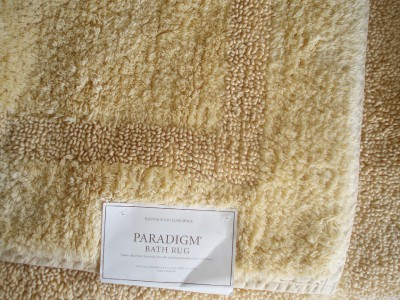 Restoration Hardware Large Paradigm Reversible Bath Rug 30 X50 Maize Ebay