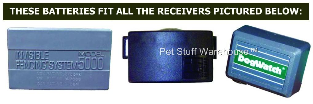 Compatible Dog Fence Receivers