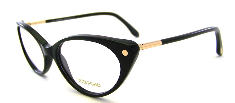 Eyeglasses Frame Numbers : *NEW* TOM FORD, FT5189-001 SHINY BLACK CAT EYE, Eyeglass ...