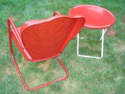 Love Vintage Lawn Chairs Lora Lewis Furniture