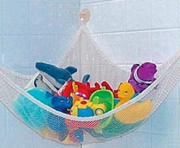 multi purpose toy hammock baby bath toys storage tidy ebay. Black Bedroom Furniture Sets. Home Design Ideas