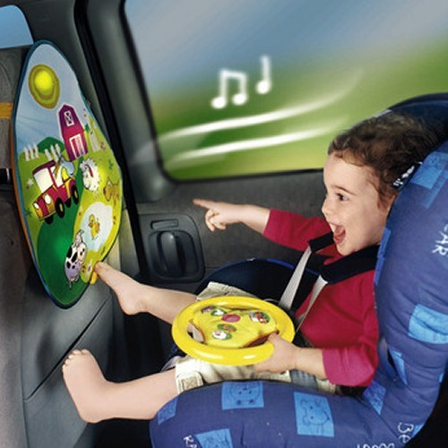 New Wonder Wheel Baby Car Seat Musical Activity Toy Ebay
