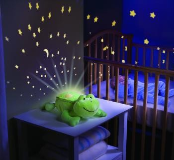Baby Musical Cot Mobile Night Light Nursery Light Show