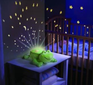 Baby Musical Cot Mobile Night Light Nursery Light Show ...
