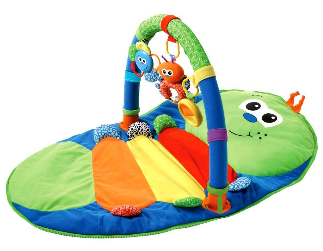 Wiggle Worm Baby Compact Travel Activity Play Gym Baby