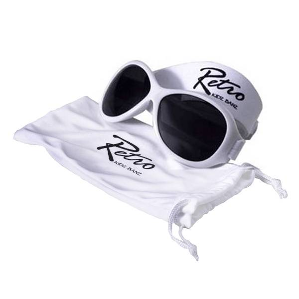 Kidz-Banz-Kids-Child-Toddler-Retro-Sunglasses-2-5-Years-White-100-UV-Protection