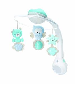 3 in 1 Baby Projector Musical Cot Mobile Crib Night Light ...