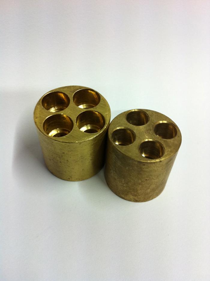 22mm 4 Way Brass Manifold New 8mm Or 10mm Port Solder