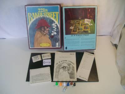 221b baker street game 1977 mustang