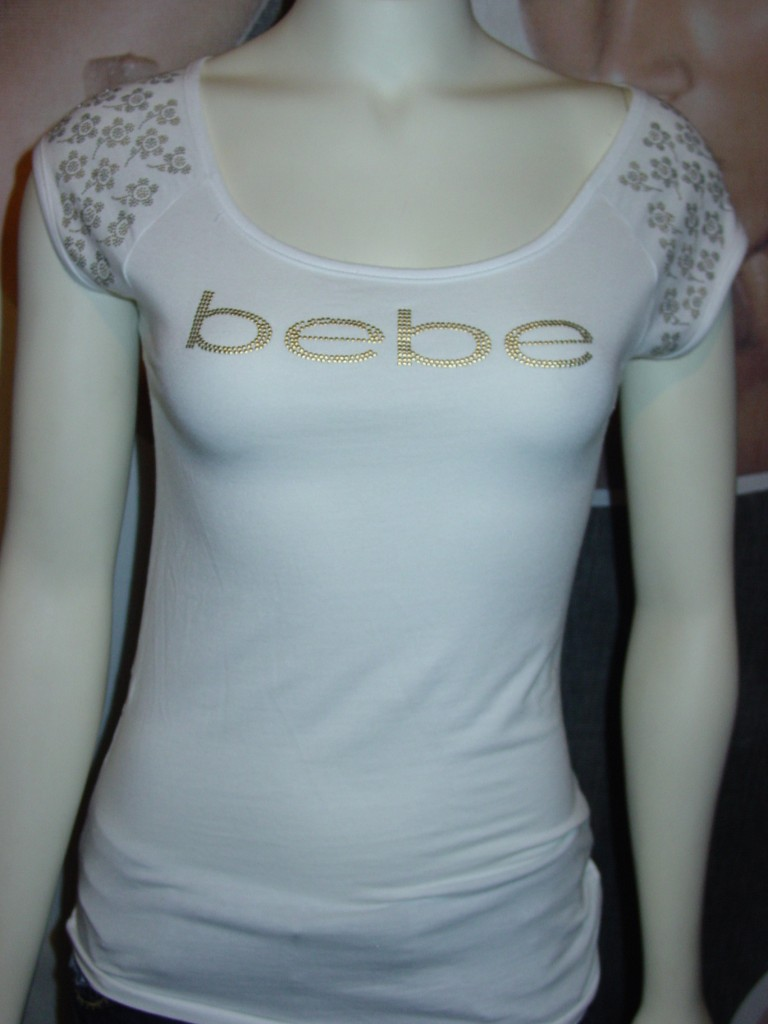 Big sale prices xs s m l bebe logo tee shirt top for I like insects shirt