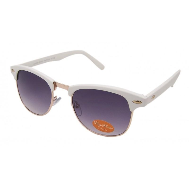 Rimless Clubmaster Glasses : VTG 50s Style Clubmaster/Wayfarer Sunglasses Retro ...
