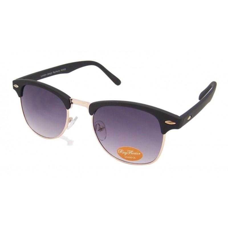 wayfarer clubmaster  VTG 50\u0026#039;s Style Clubmaster/Wayfarer Sunglasses Retro Rimless ...