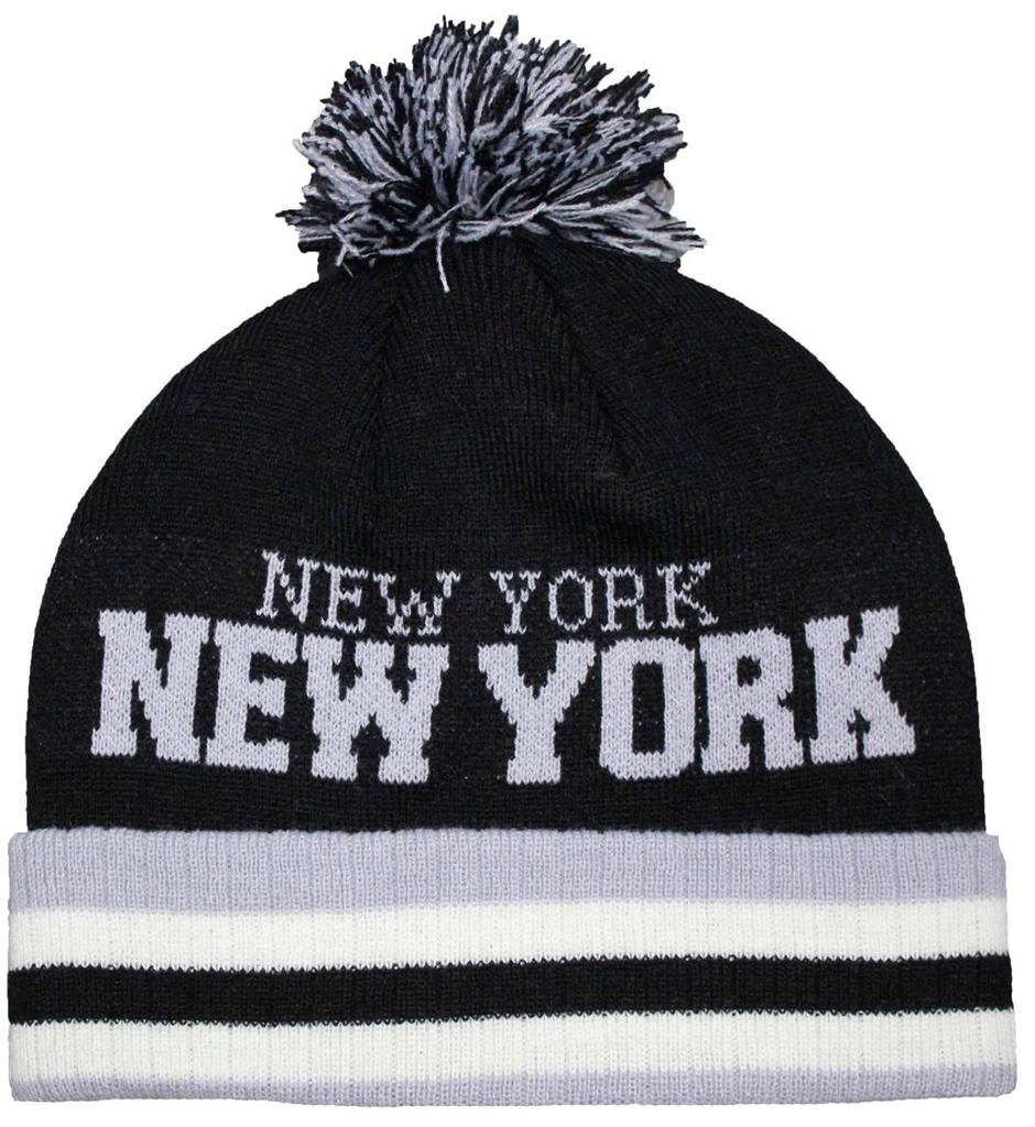 New York Yankees Black Beanie Hat - MLB NY Cuffed Winter Knit Cap. by ' $ $ 22 FREE Shipping on eligible orders. out of 5 stars See Details. 10% off purchase of 10 items See Details. Product Features Features '47 logo on left side of beanie. MLB '47 Beanie Knit.