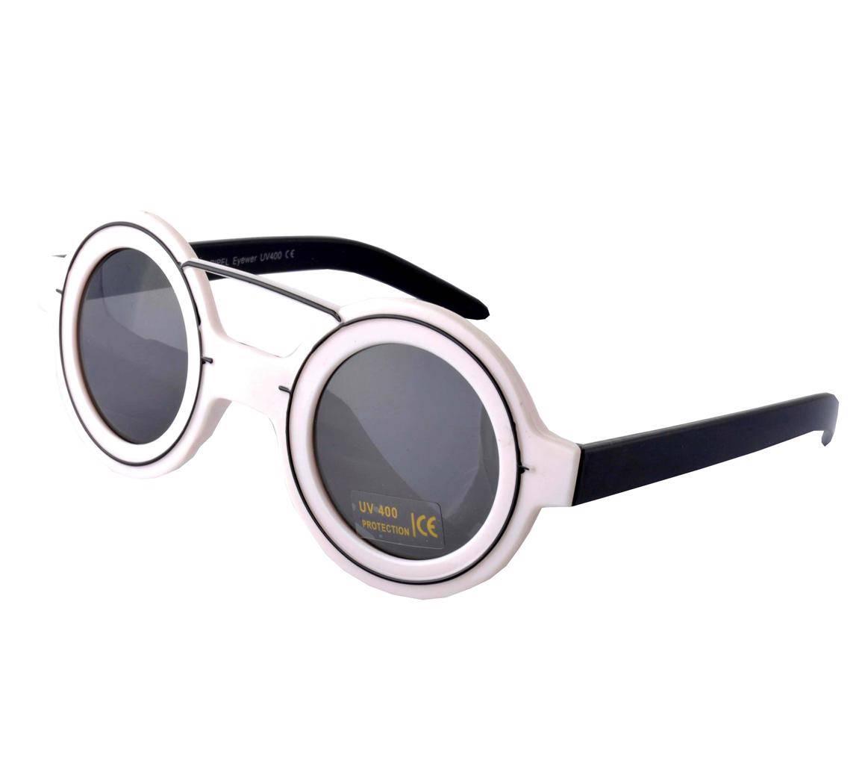White round lens sunglasses retro steampunk 20s 30s glasses vtg ebay