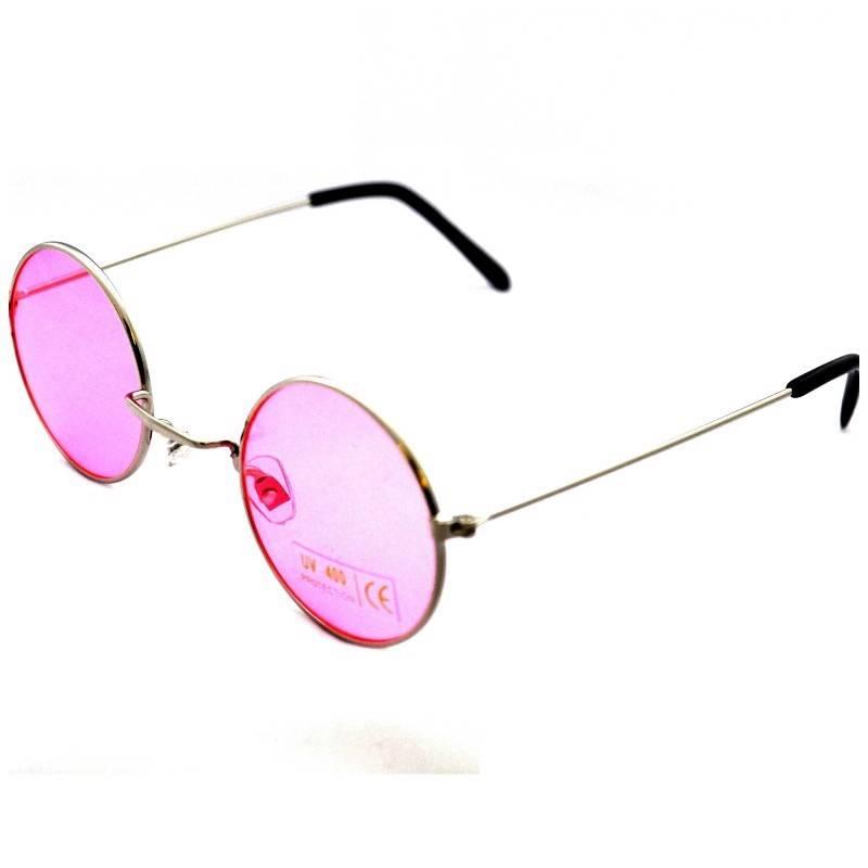 Retro-Round-Coloured-Lens-90s-Steampunk-Sunglasses-UV400-BNWT-Lennon-Ozzy-Grunge