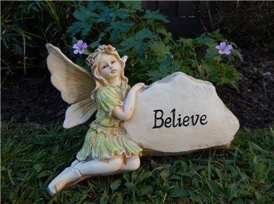 Magical Believe Secret Fairy Angel Figurine Garden Fairies