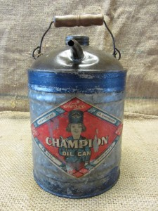 how to read label on the gas can