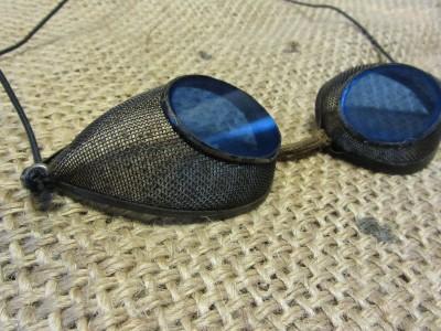 blue snowboard goggles  mesh goggles