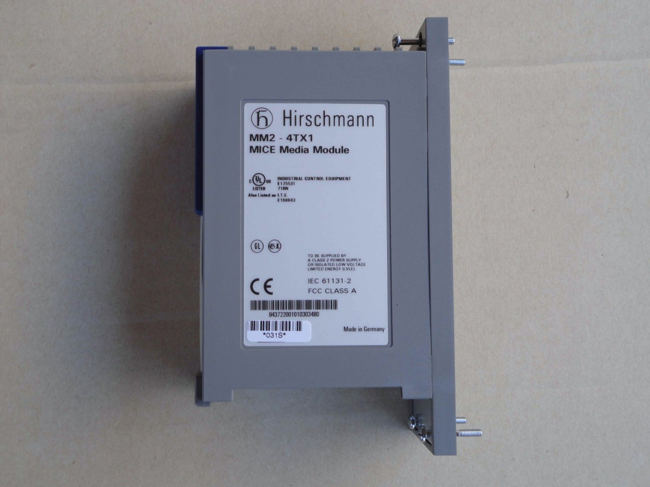 Hirschmann-MM2-4TX1-Mice-Media-Module