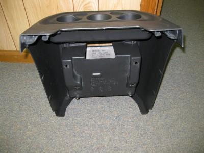 03 10 Chevy Express/GMC Savanna Van Black Center Console Cup Holder