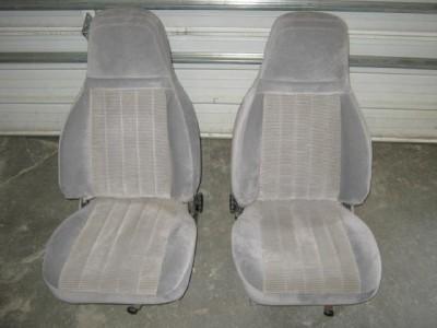88 93 Chevy/GMC CK Truck Gray Cloth Bucket Seats Astro/Safari Van