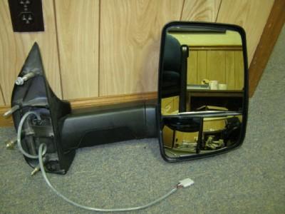 03 12 Ford Econoline Van RV Cutaway Chasis Velvac RH Power Towing Mirror