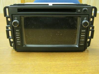 07 08 09 10 Chevy Silverado Avalanche GMC Sierra CD Navigation Unit