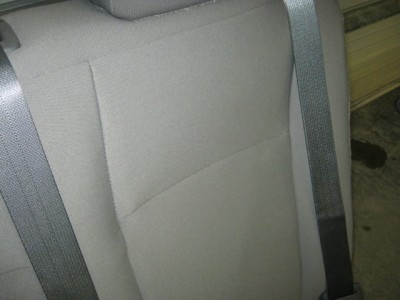 2012 2013 Nissan NV Van 2nd 3rd 4th Row 2 LH Passenger Gray Cloth Bench Seat