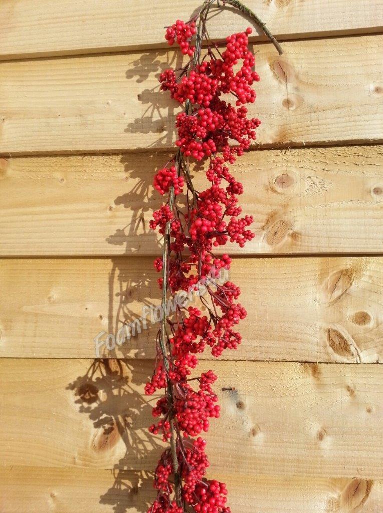 5f Christmas Wild Berry Garland Berry Decoration Tree