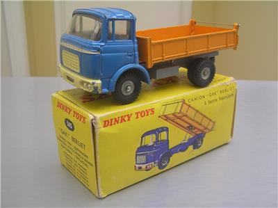 french dinky toy 585 berliet gak camion tipper truck exib ebay. Black Bedroom Furniture Sets. Home Design Ideas