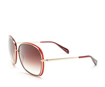 Oliver Peoples Emely Sunglasses  oliver peoples emely sunglasses oxblood red frame e brown