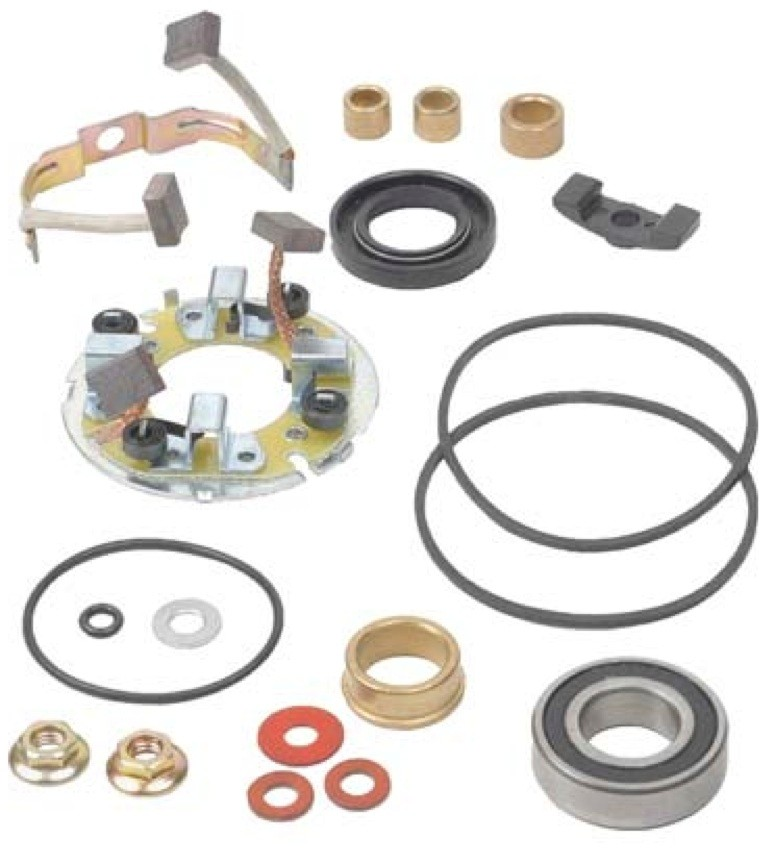 new starter motor rebuild kit repairs 1981 83 yamaha