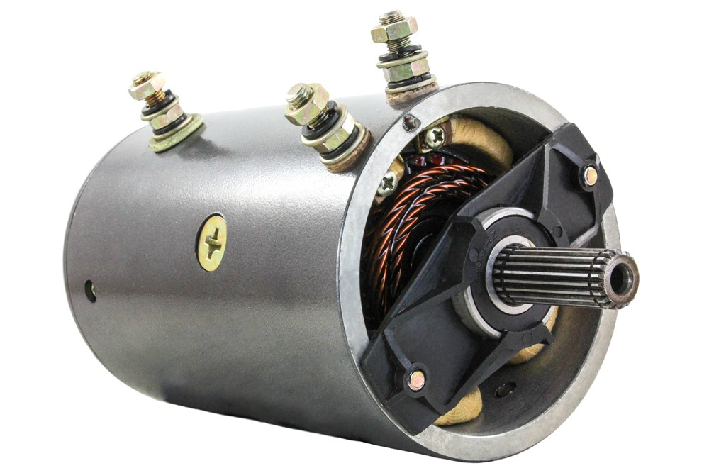 New 24v motor warn smith superwinch husky w 7621 4 8hp Warn winch replacement motor