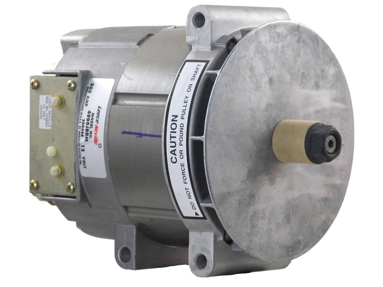 New Oem 200 Amp 12v Alternator Leece Neville 4900j 4900jb