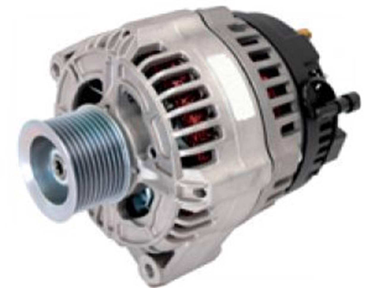 International Tractor Alternators : New alternator fits case ih tractor puma