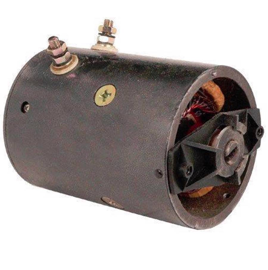 Snow plow motor fisher western insulated ground 4 field for Fisher snow plow pump replacement motor