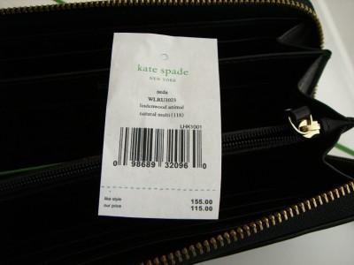 Kate Spade Lindenwood Animal Neda Wallet $155