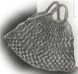 Crochet Plastic Grocery Bag Pattern - Online Crochet