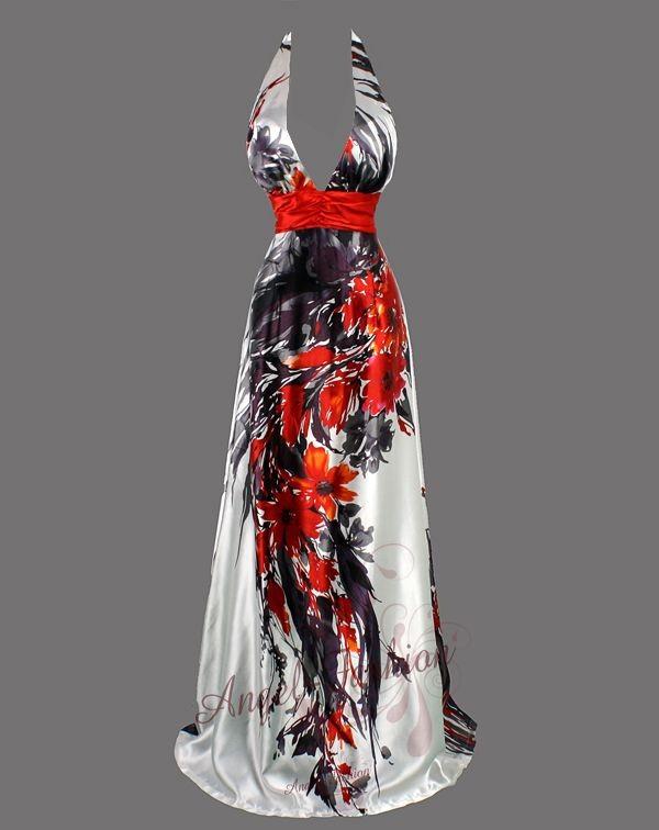 Sexy-V-Neck-Printed-Floral-Halter-Maxi-Evening-Dress-Gown-S-M-L-XL-2XL