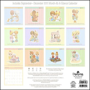 About Precious Moments Every Day Is A Celebration 2012 Wall Calendar