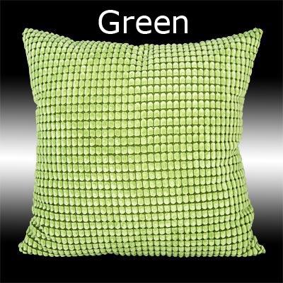 2 VELVET PLAIN COLOUR THROW PILLOW CASES CUSHION COVERS 17