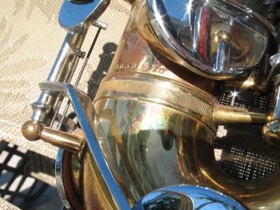 Saxophone King Vintage White Pitch Silver 66240
