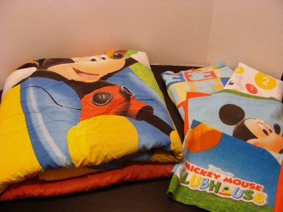 Mickey Mouse Clubhouse Bedding Comforter Set Twin Size Sheet Set Pillowcase