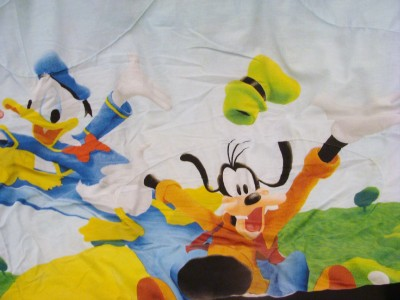 mickey mouse clubhouse bedding comforter set twin size sheet set