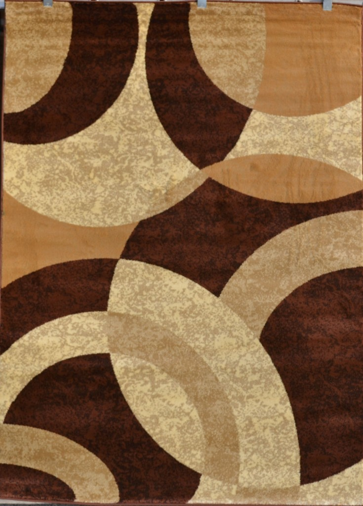 brown beige black modern geometric contemporary area rug