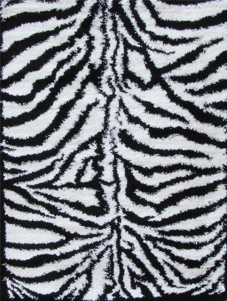 shaggy shag zebra red turquoise white gray 5x7 area rug