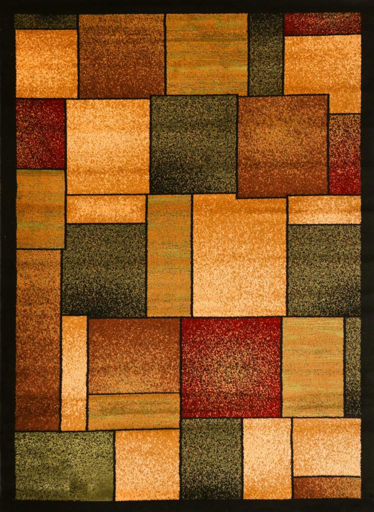 1794 multi area rug modern contemporary abstract carpet ebay for Area rugs contemporary modern